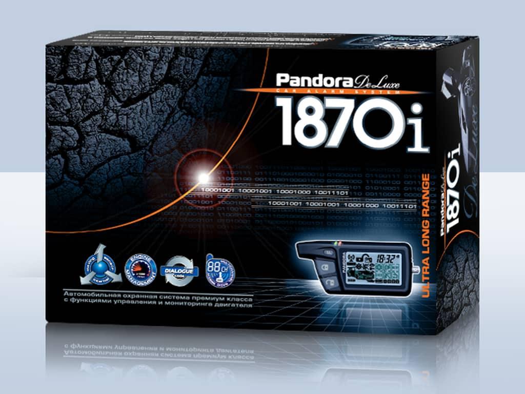 Автомобильная сигнализация Pandora Deluxe 1870