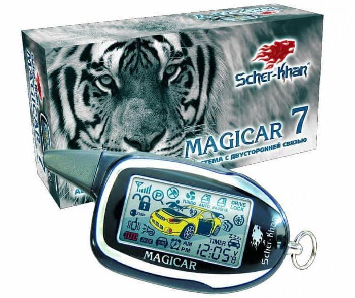 АвтосигнализацияScher-Khan Magicar 7