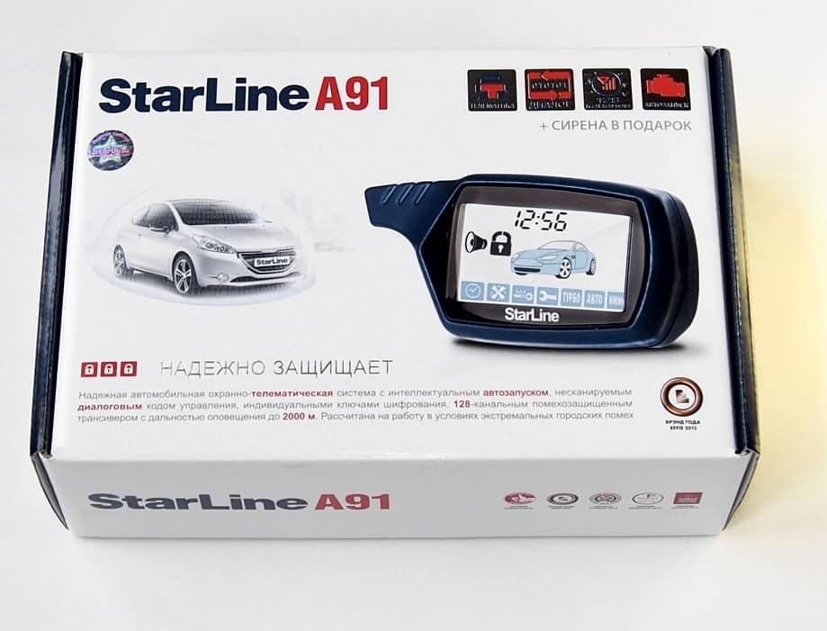 ТОП-5 Автомобильных Сигнализаций - StarLine A91 Dialog.
