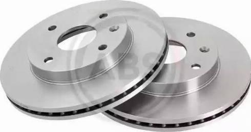 A.B.S. 17684 - Тормозной диск autosila-amz.com