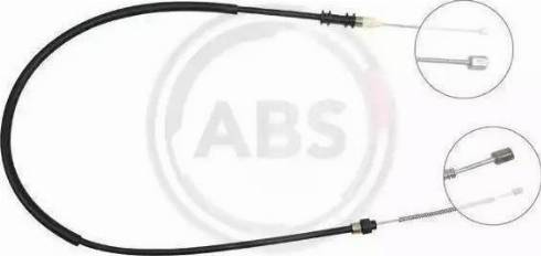 Adriauto 41.0211.1 - Трос, стояночная тормозная система autosila-amz.com