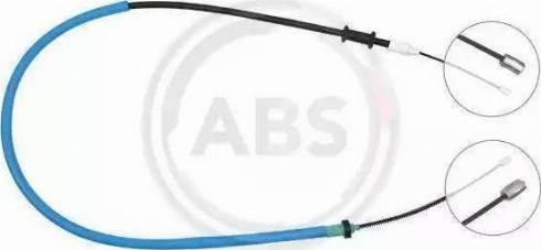 Adriauto 41.0212.1 - Трос, стояночная тормозная система autosila-amz.com
