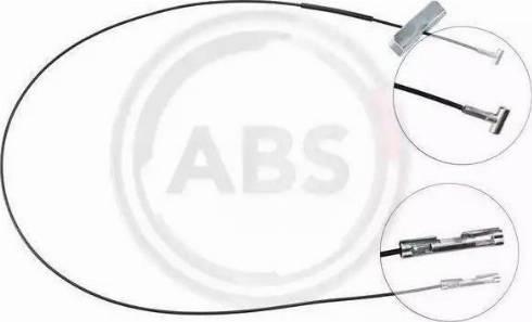A.B.S. K17242 - Трос, стояночная тормозная система autosila-amz.com
