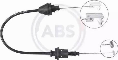 A.B.S. K37550 - Тросик газа autosila-amz.com