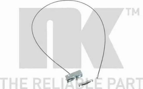 NK 9036114 - Трос, стояночная тормозная система autosila-amz.com