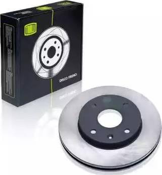 Trialli DF 062202 - Тормозной диск autosila-amz.com