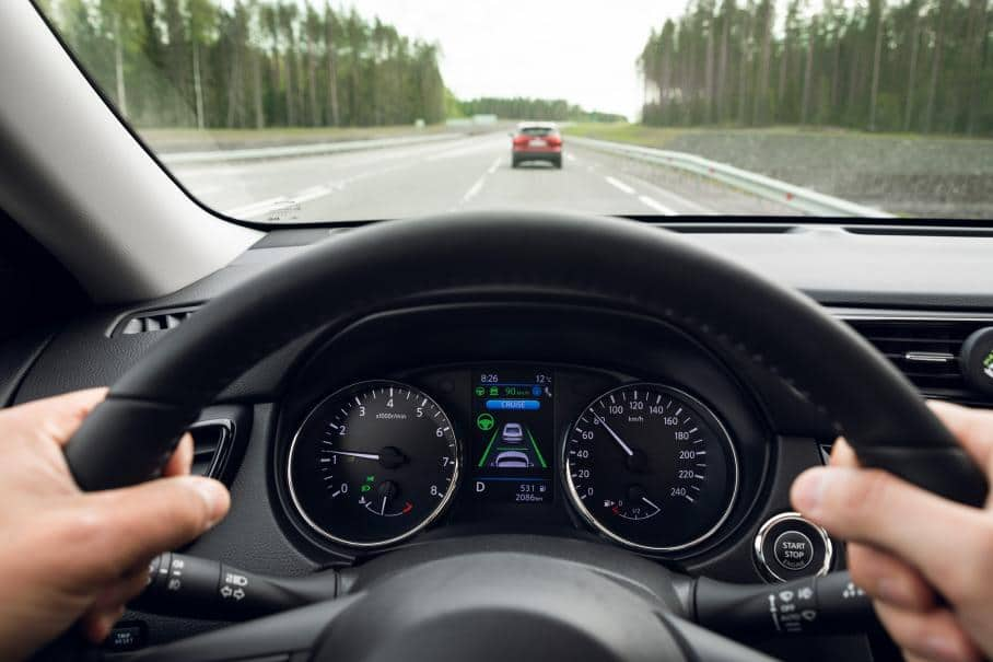Nissan Qashqai 2021 с автопилотом