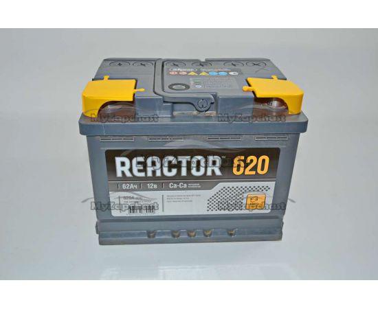 Аккумулятор 6 СТ-62 Аз (0) Reactor (пт 620) Аком 2017 год, фото 2