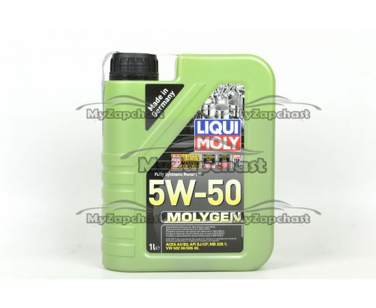 Масло ДВС LIQUI MOLY 5W50 Molygen 1л, фото 2