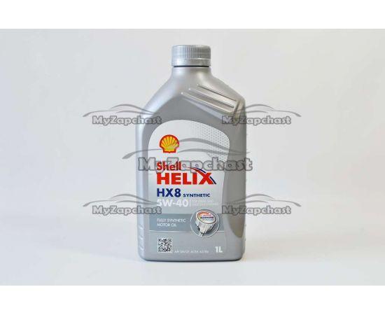 Масло ДВС Shell 5W40 SM/CF Helix HX8 1 л, фото 2