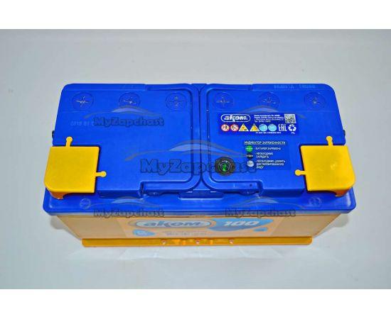 Аккумулятор 6 СТ-100 Аз (0) (пт 850) Аком 2016 год, фото 3