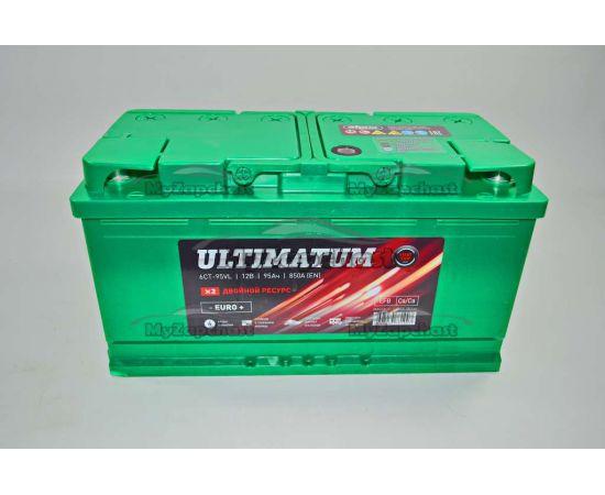Аккумулятор 95VL Ultimatum (0) (пт 850) 2016 год, фото 2